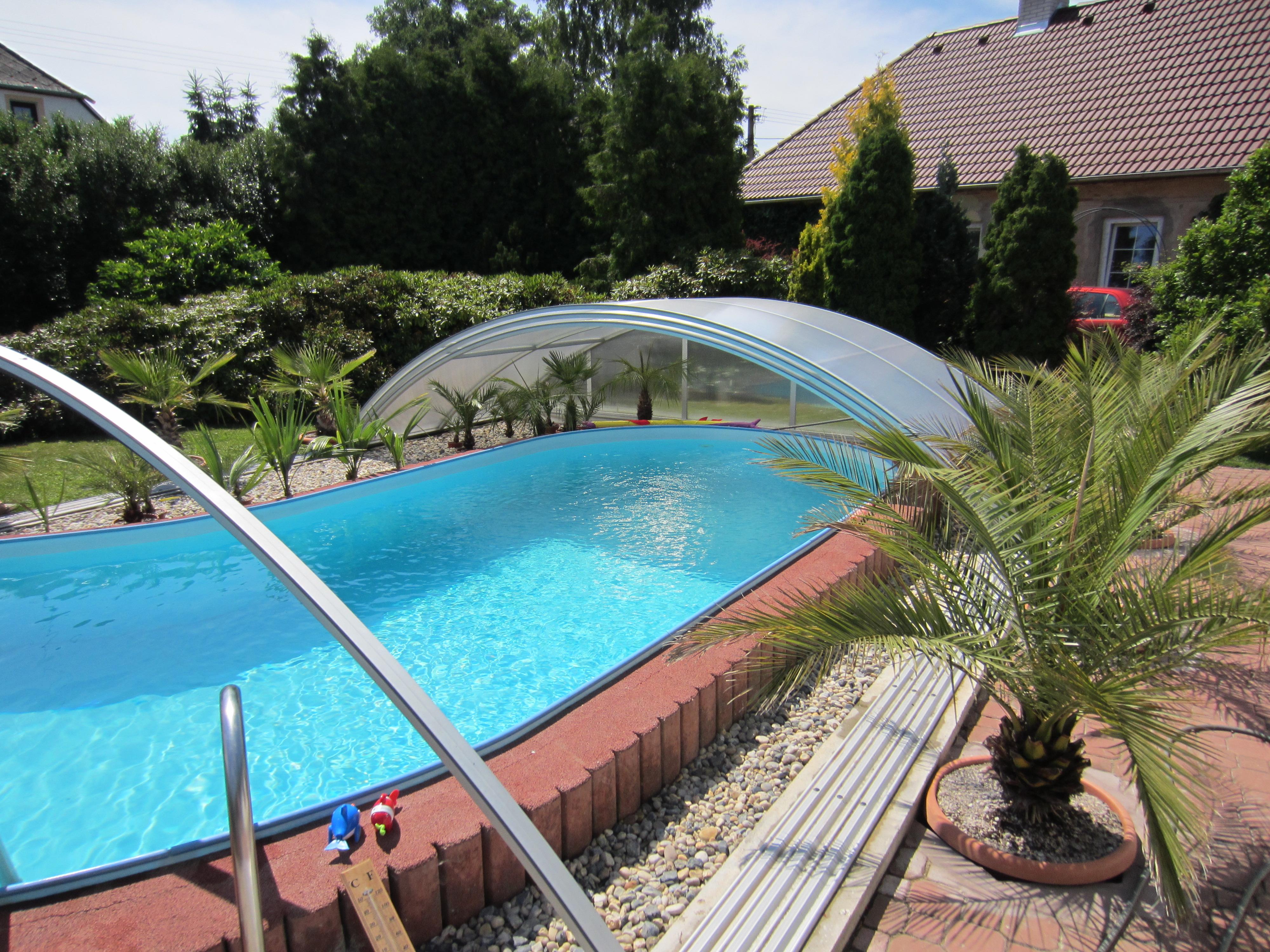 Jak zvýšit teplotu vody v bazénu