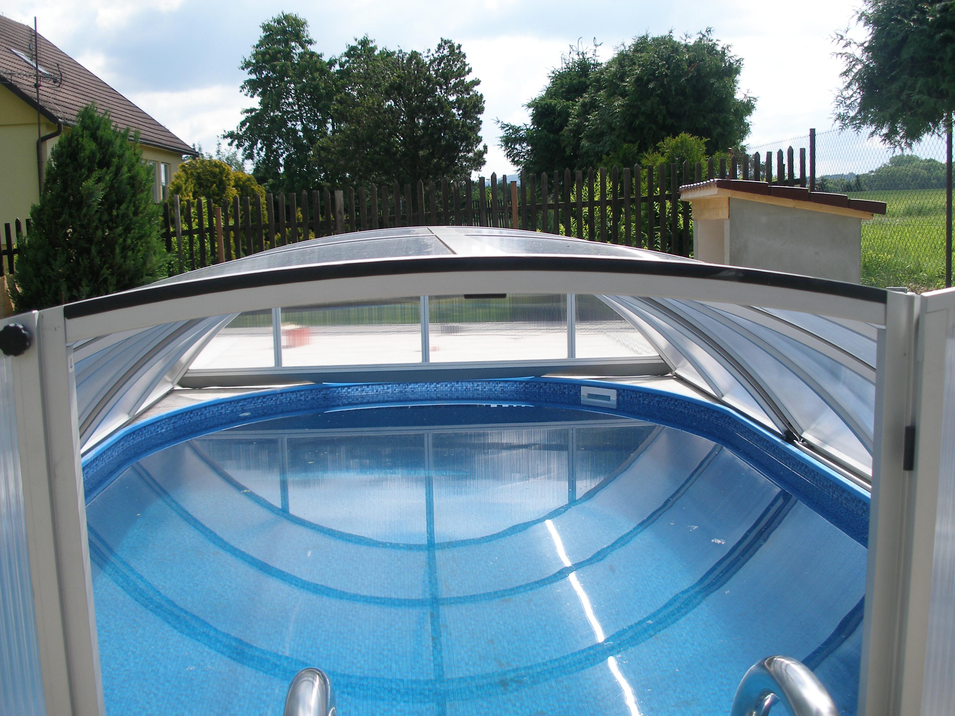 Zastřešení bazénu Poolor