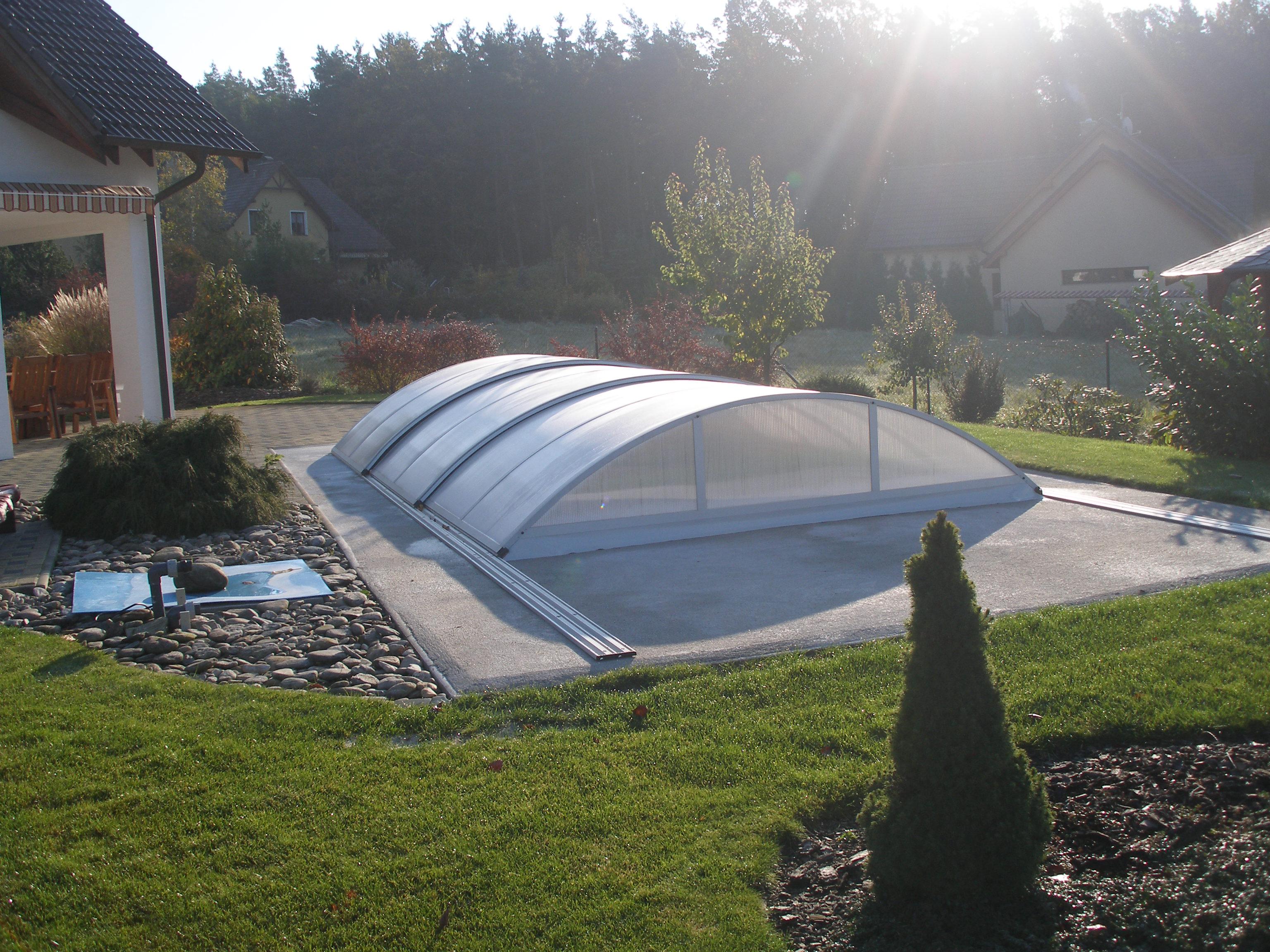 Kryt bazénu Poolor