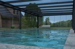 Luxusní zastřešení bazénu
