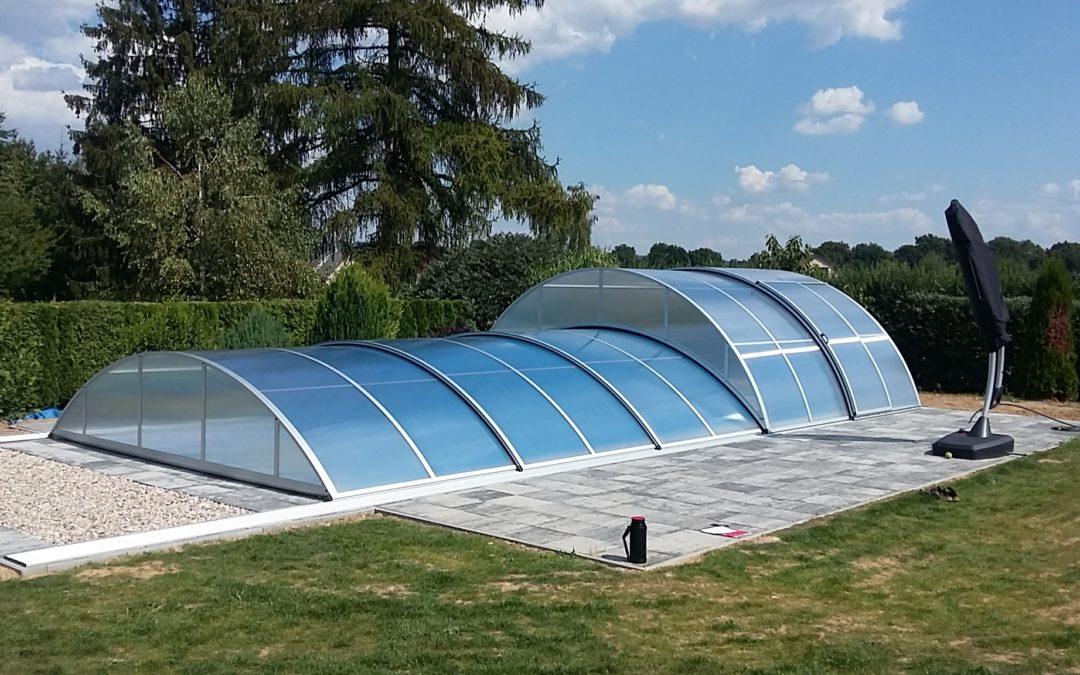 Základní rozměry zastřešení bazénů Poolor